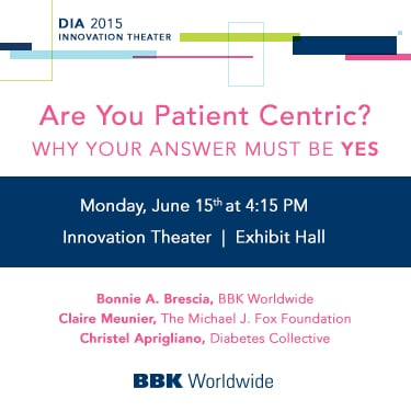 Are you patient centric