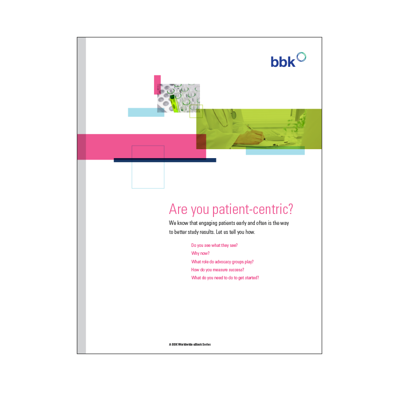 eBook - Are You Patient-Centric?