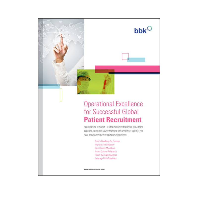 eBook: Operation Excellence for Successful Patient Recruitment